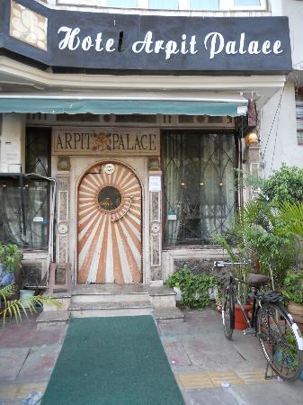 Hotel Arpit Palace: Entrance