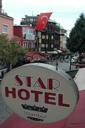 Star Hotel Istanbul: Vue de la terrase du petit-déjeuné