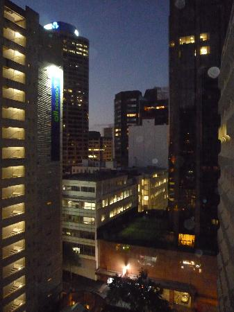 CityLife Auckland: View out Window at Night