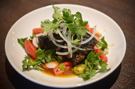 AGAVA Restaurant : Beer & chile-braised local beef short ribs