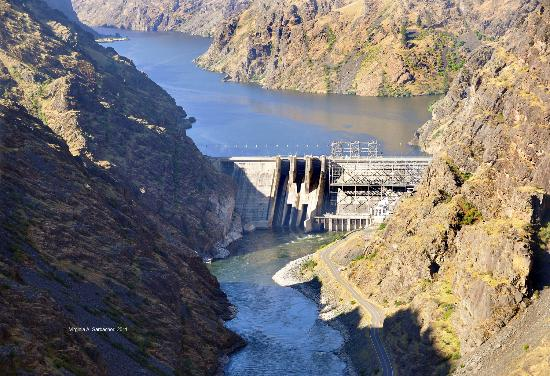 Hells Canyon National Recreation Area: Hells Canyon Dam