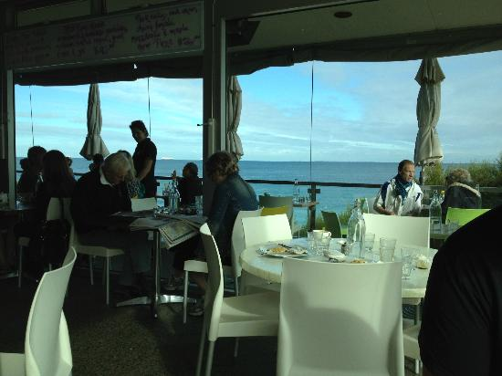 Barchetta: Great view and delicious food