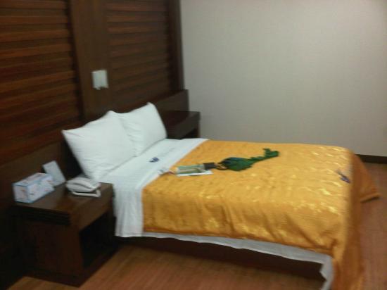 Incheon Airtel: letto non molto grande