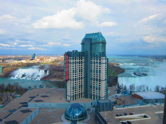 Hilton Niagara Falls Fallsview Hotel Suites Great View