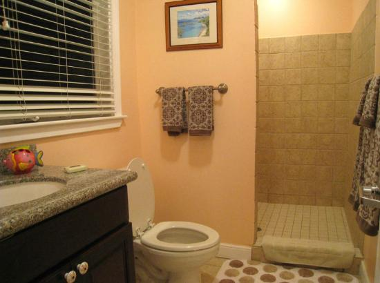 Palm Terrace Villas: Bathroom