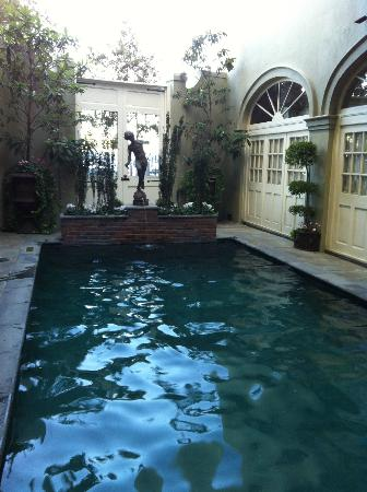 Bienville House: Gorgeous pool area!