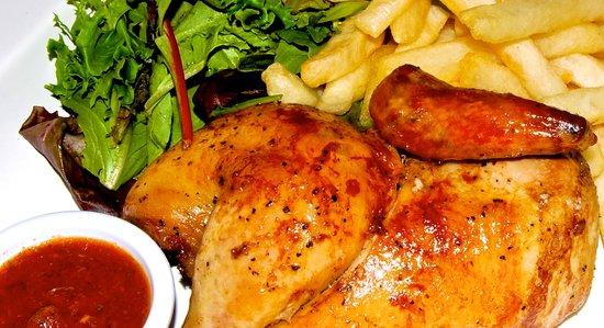 Aji Peruvian Restaurant: Rotisserie Chicken