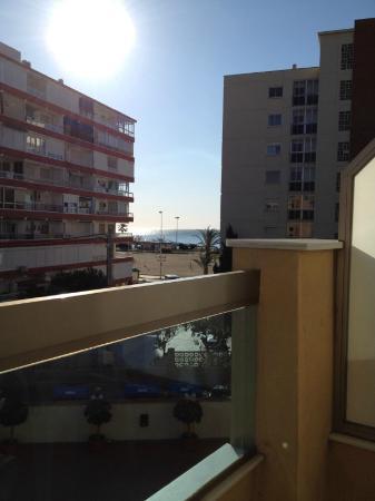 BQ Andalucia Beach Hotel: uitzicht van kamer 220
