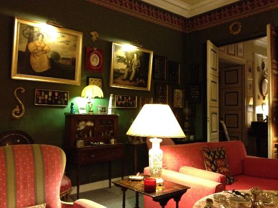 Chateau de Goville : Teestube