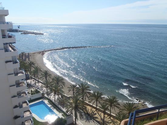 Princesa Playa Hotel Apartamentos : view from the pool
