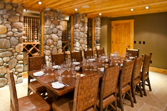 Rainbow Ranch Lodge Restaurant: The Bacchus Room