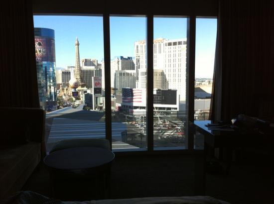 View From Strip View Room On 16th Floor Picture Of Mandarin Oriental Las Vegas Las Vegas