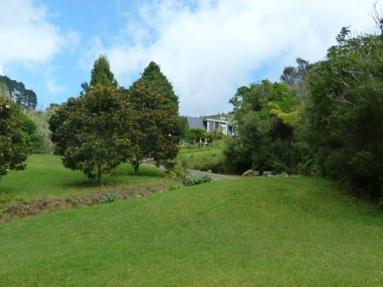 Wairua Lodge - The Hidden River Valley: View from the driveway