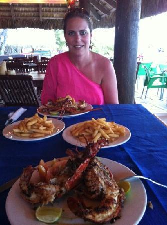 Acqua Beach Club: THE lobster