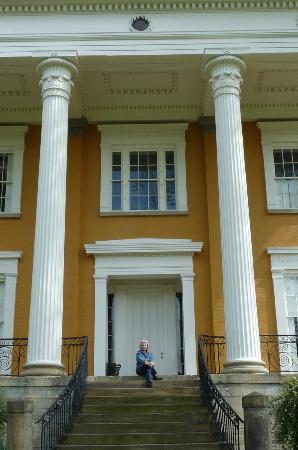 Lanier Mansion: the riverside entrance