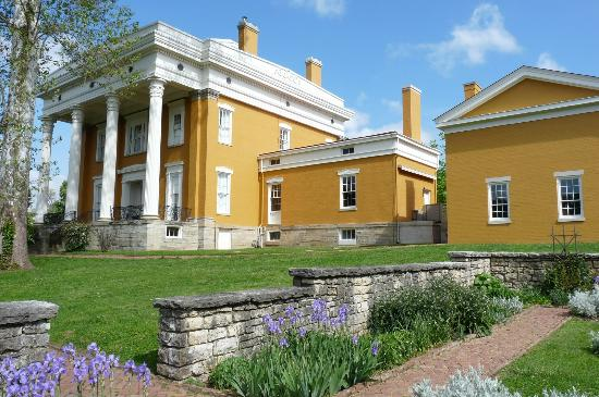 Lanier Mansion: mansion showing kitchen and carriage house