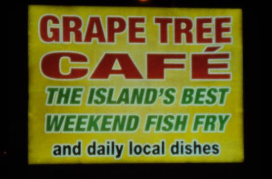 The Grape Tree Cafe: Boden Town road sign