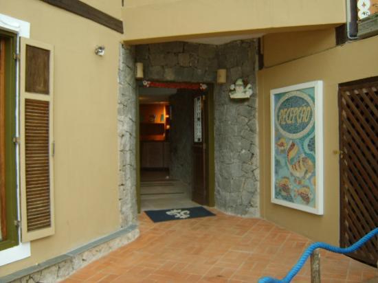 Porto Pacuiba Hotel: Entrada