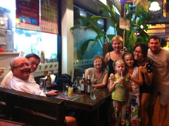 K.C. Guest House: lovely family from Russia