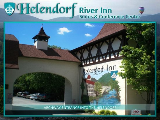 Helendorf River Inn and Conference Center: Helendorf Entry Archway