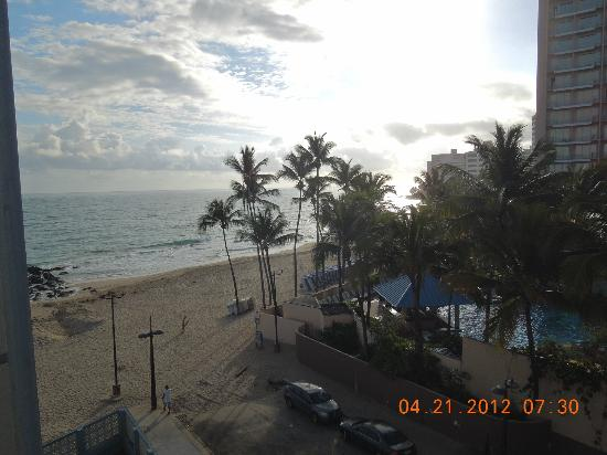 Sandy Beach Hotel: View from roof top terrace