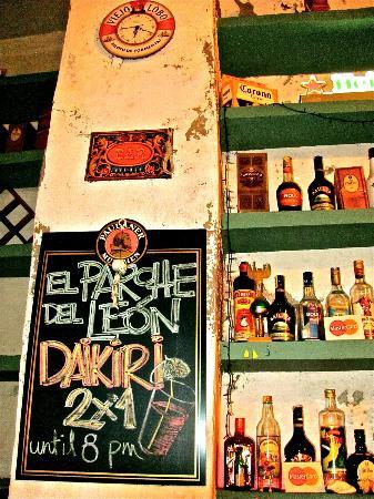 El Parche Del LeOn : The view form the bar