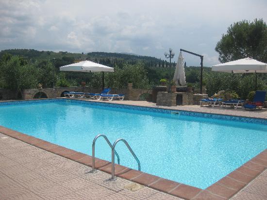 Santa Maria Degli Ancillotti: the pool