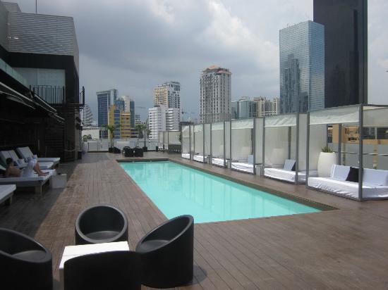 Manrey Boutique Hotel: Rooftop pool area