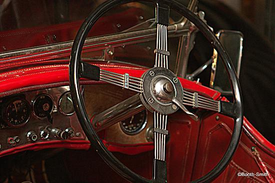 Canadian Automotive Museum: Cool steering wheel -- ground floor location