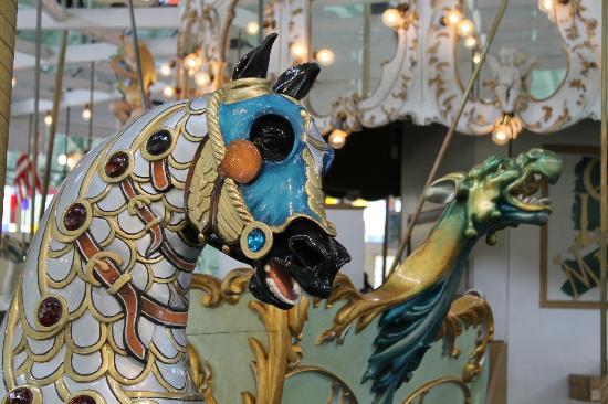 Crescent Park Looff Carousel: Looff Carousel