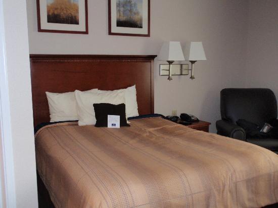 Candlewood Suites Perrysburg: Bed