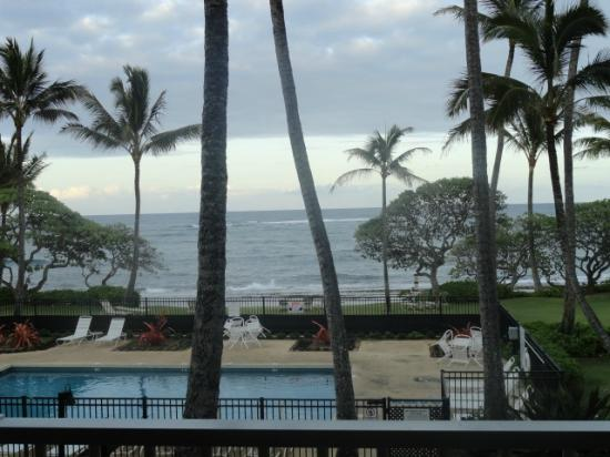 Kapaa Shores: View from room