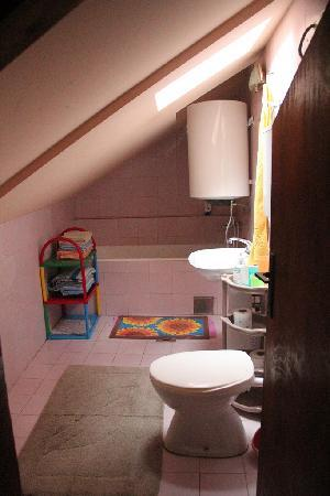 Montenegro Hostel Kotor: Bathroom to share in second building