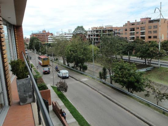Hotel Faranda Bogotá Collection: View from balcony 2