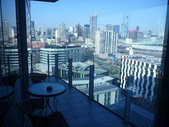 The Sebel Residences Melbourne Docklands: Balcony