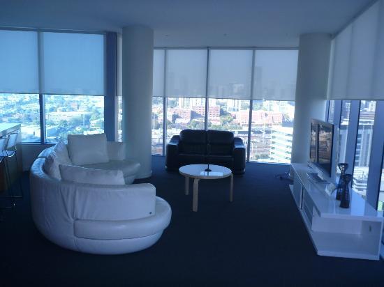 The Sebel Residences Melbourne Docklands: Lounge room