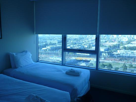 The Sebel Residences Melbourne Docklands: One of the bedrooms