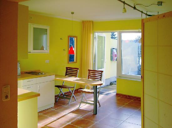 Haus am Meer - Hotel fur Frauen: Bungalowküche