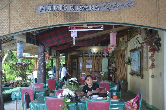 Puerto Nirvana Beach Resort: 'kain na!'