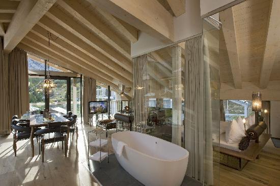 Focus suite bild von matterhorn focus design hotel for Hotel design valais