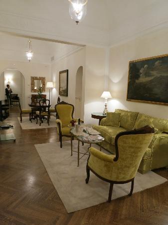 Belmond Grand Hotel Timeo: The suite