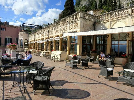 Belmond Grand Hotel Timeo: Literary terrace