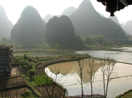 Yangshuo Tea Cozy: view from the room