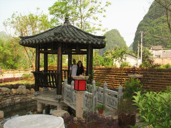 Yangshuo Tea Cozy: the totel garden