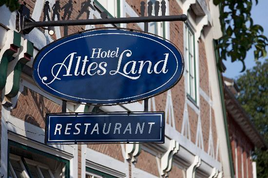 Hotel Altes Land: Hotelschild
