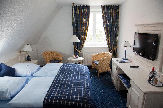 Hotel Altes Land: Standarddoppelzimmer im Stammhaus