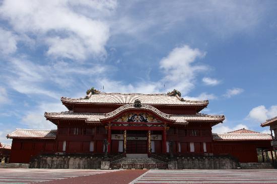 Naha, Japan: 首里城正殿