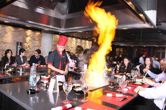 Le Commodore Hotel: Benihana Japanese Restaurent