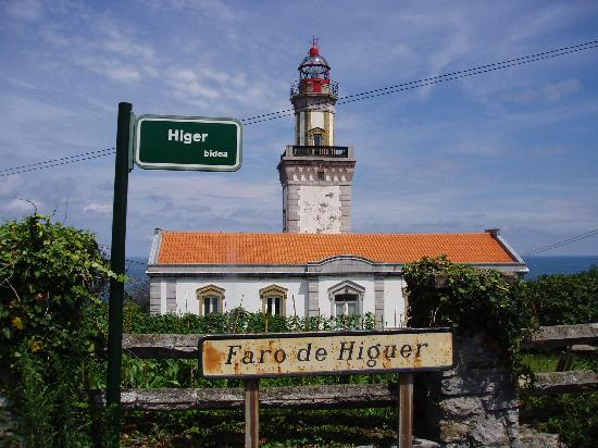 Hondarribia, Spanien: faro Higuer