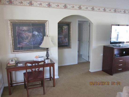 Suites at Fall Creek: view of living room